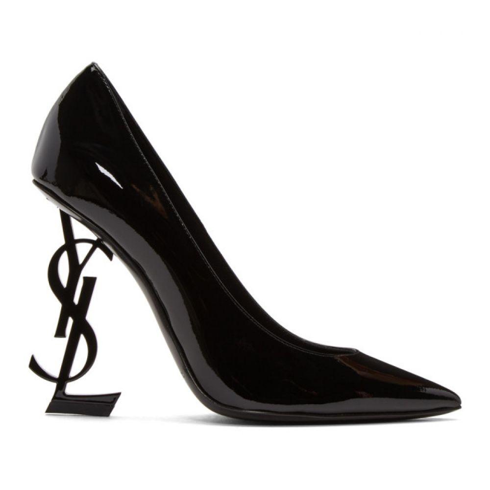 イヴ サンローラン レディース シューズ・靴 ヒール【Black Patent Opyum Heels】
