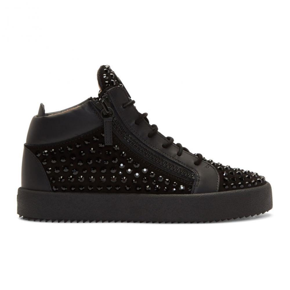 ジュゼッペ ザノッティ メンズ シューズ・靴 スニーカー【Black May London High-Top Sneakers】