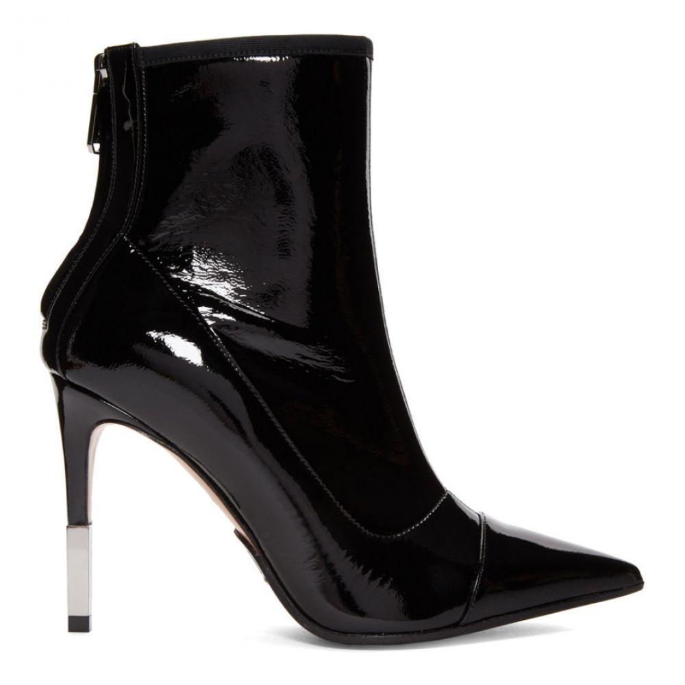 バルマン Balmain レディース シューズ・靴 ブーツ【Black Patent Blair Boots】