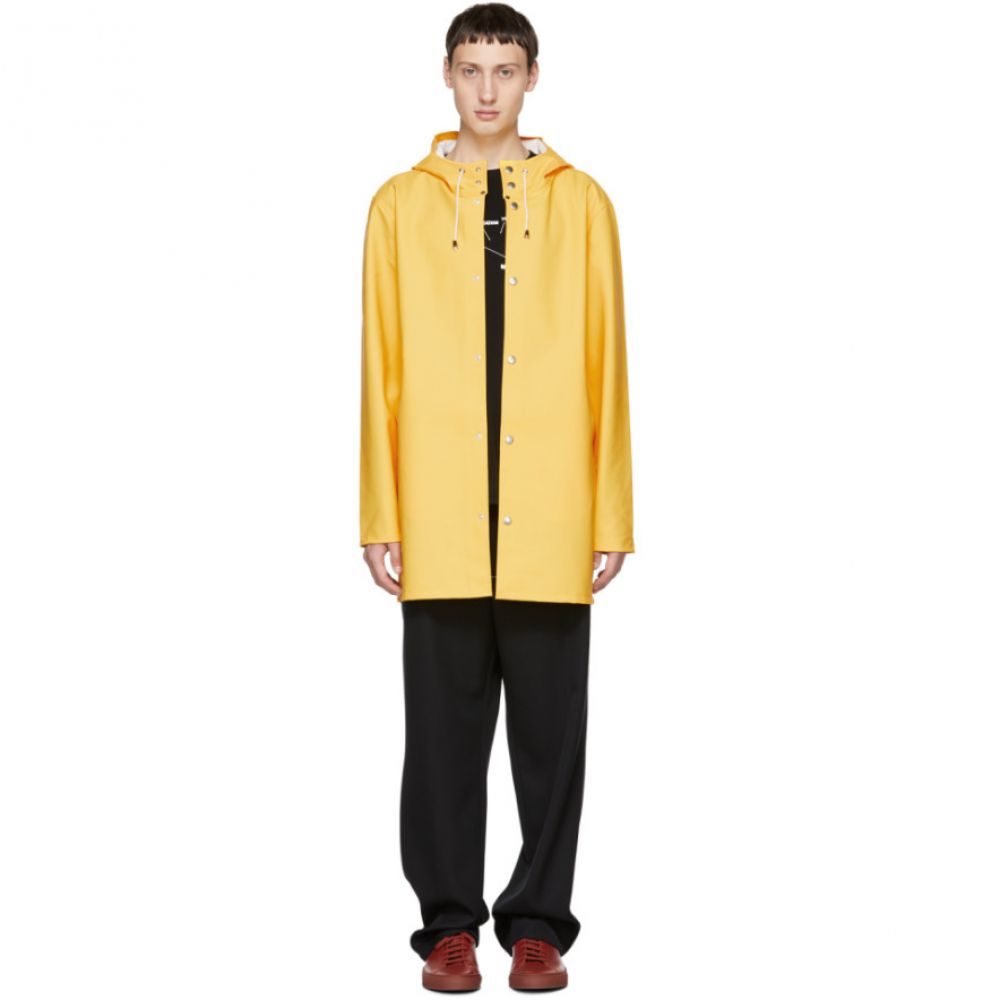 ストゥッテルハイム Stutterheim メンズ アウター レインコート【Yellow Stockholm Raincoat】
