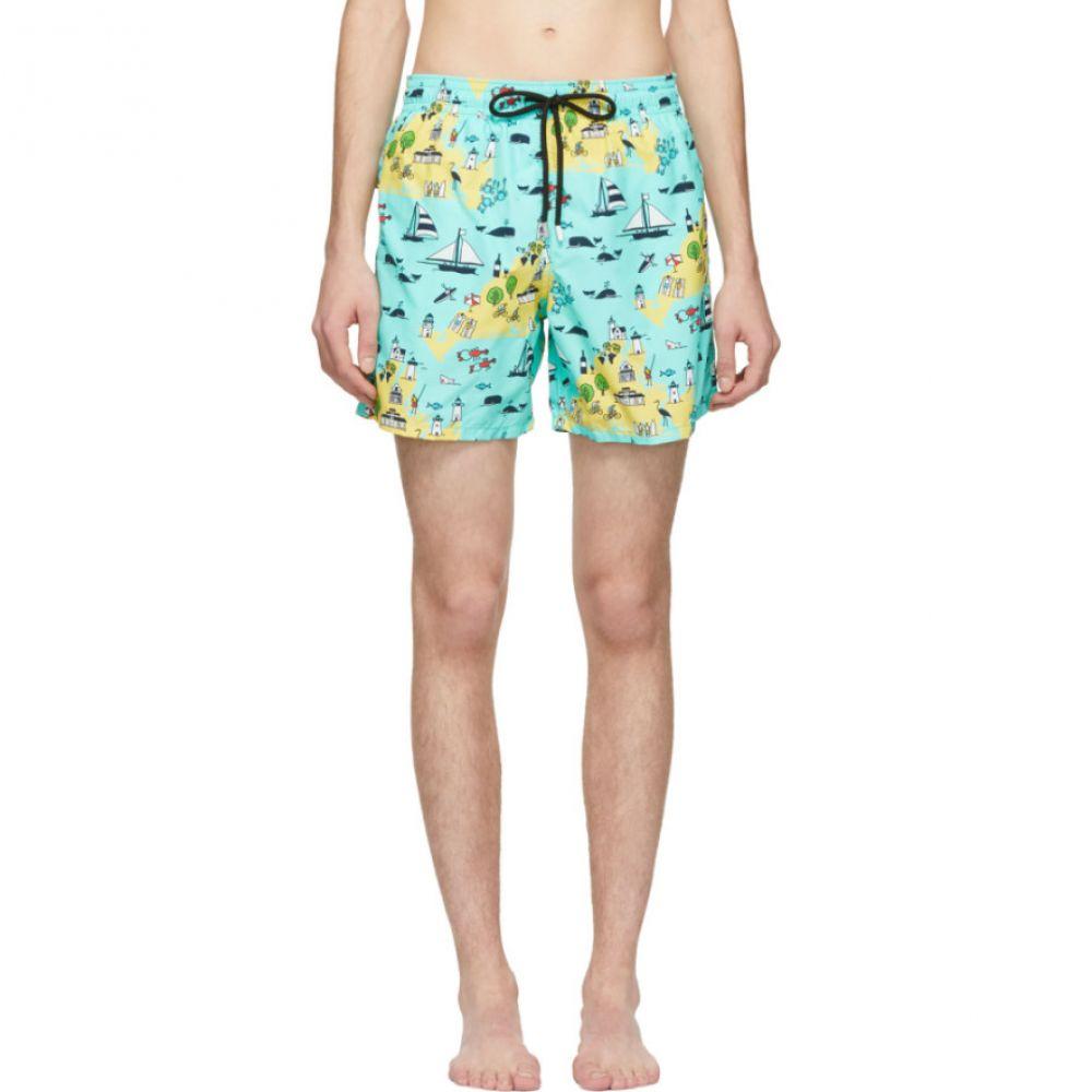 ヴィルブレクイン Vilebrequin メンズ 水着・ビーチウェア 海パン【Green Martha's Vineyard Moorea Swim Shorts】