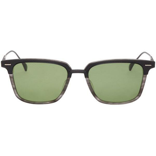 DITA Black & Gray Oak Sunglasses メンズ サングラス