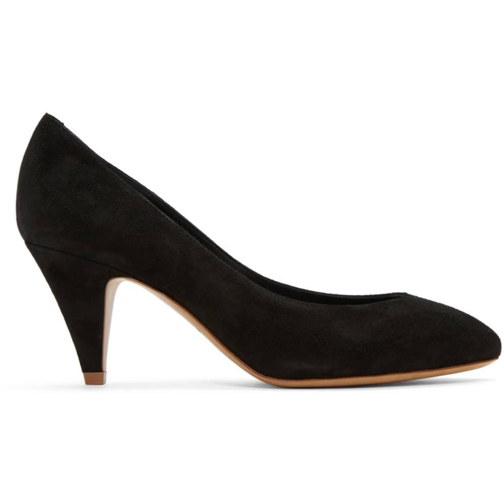 マンサーガブリエル レディース シューズ・靴 ヒール【Black Suede Classic Heels】 マンサーガブリエル レディース シューズ・靴 ヒール  【サイズ交換無料】面白い(面白い)