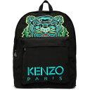 ショッピングリュックサック ケンゾー Kenzo メンズ バックパック・リュック バッグ【Black XL Kampus Backpack】Black