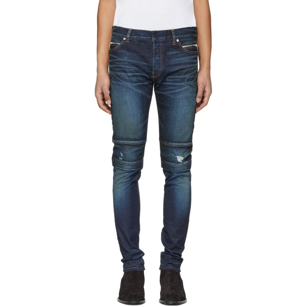 バルマン メンズ ボトムス・パンツ ジーンズ・デニム【Blue Raw Vintage Jeans】