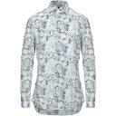 ショッピングf-05d ザカス XACUS メンズ シャツ トップス【patterned shirt】White