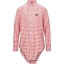 ショッピングBURBERRY バーバリー BURBERRY メンズ シャツ トップス【Checked Shirt】Red