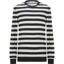 ショッピングau マウロ グリフォーニ MAURO GRIFONI メンズ ニット・セーター トップス【sweater】Black