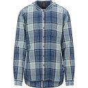 ジョン バルベイトス JOHN VARVATOS U.S.A. メンズ シャツ トップス【checked shirt】Blue