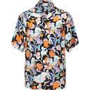 ショッピングプラダ プラダ PRADA メンズ シャツ トップス【patterned shirt】Black