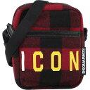 ショッピングショルダーバック ディースクエアード DSQUARED2 メンズ ショルダーバッグ バッグ【cross-body bags】Red