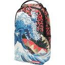 ショッピングナップサック スプレイグラウンド SPRAYGROUND レディース バックパック・リュック バッグ【dragon wave backpack & fanny pack】Blue