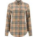 バーバリー Burberry レディース ブラウス・シャツ トップス【Camicia Vintage Check】Beige