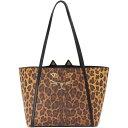 流行包, 飾品, 名牌配件 - シャーロットオリンピア Charlotte Olympia レディース バッグ トートバッグ【Mini Feline Shopper Tote】Leopard