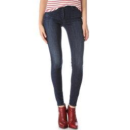 スリーバイワン 3x1 レディース ボトムス スキニー【W3 Channel Seam Skinny Jeans】Wash No. 3