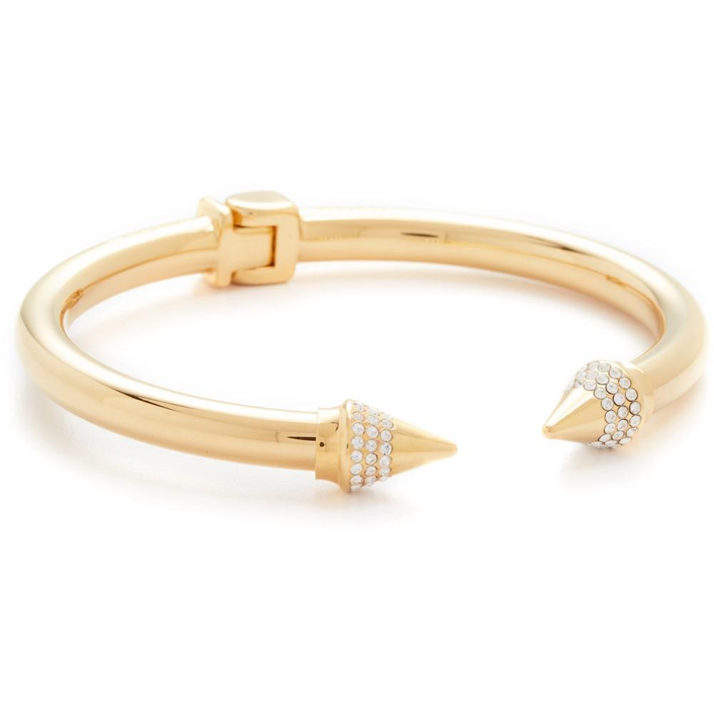 ヴィタフェデ Vita Fede レディース アクセサリー ブレスレット【Mini Titan Crystal Bracelet】Gold/Clear ヴィタフェデ レディース アクセサリー ブレスレット 【サイズ交換無料】