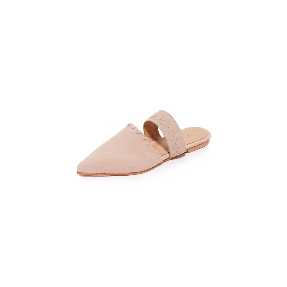 ウラ ジョンソン Ulla Johnson レディース シューズ・靴 フラット【Varena Mule Slides】Blush ウラ ジョンソン レディース シューズ・靴 フラット 【サイズ交換無料】