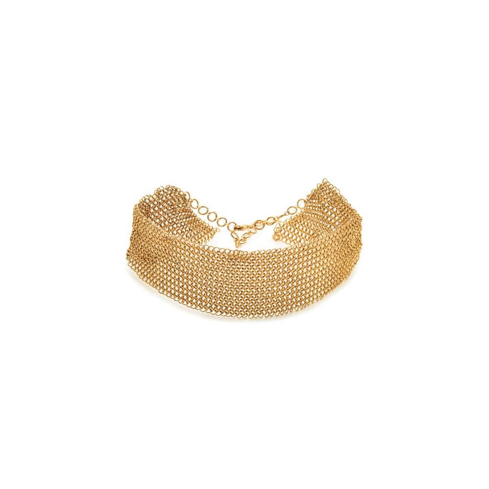 セレフィーナ serefina レディース アクセサリー ネックレス【Mesh Collar Necklace】Gold セレフィーナ レディース アクセサリー ネックレス 【サイズ交換無料】