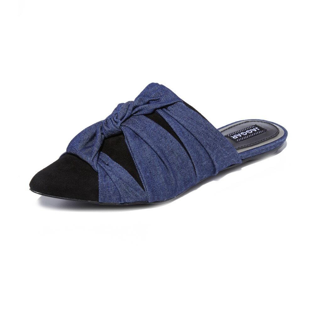 ジャガー JAGGAR レディース シューズ・靴 フラット【Statue Denim Flats】Denim ジャガー レディース シューズ・靴 フラット 【サイズ交換無料】