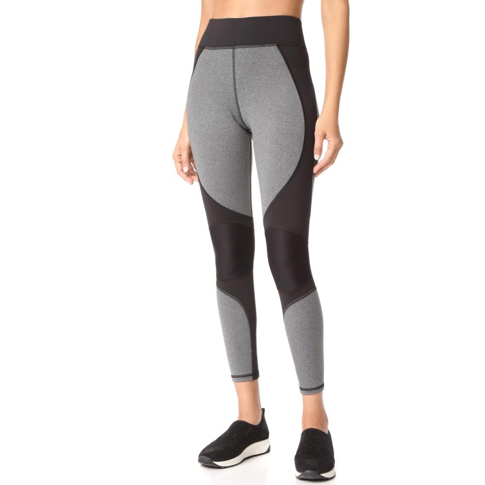 ミチ レディース インナー・下着 スパッツ・レギンス【Velocity Leggings】Grey/Black