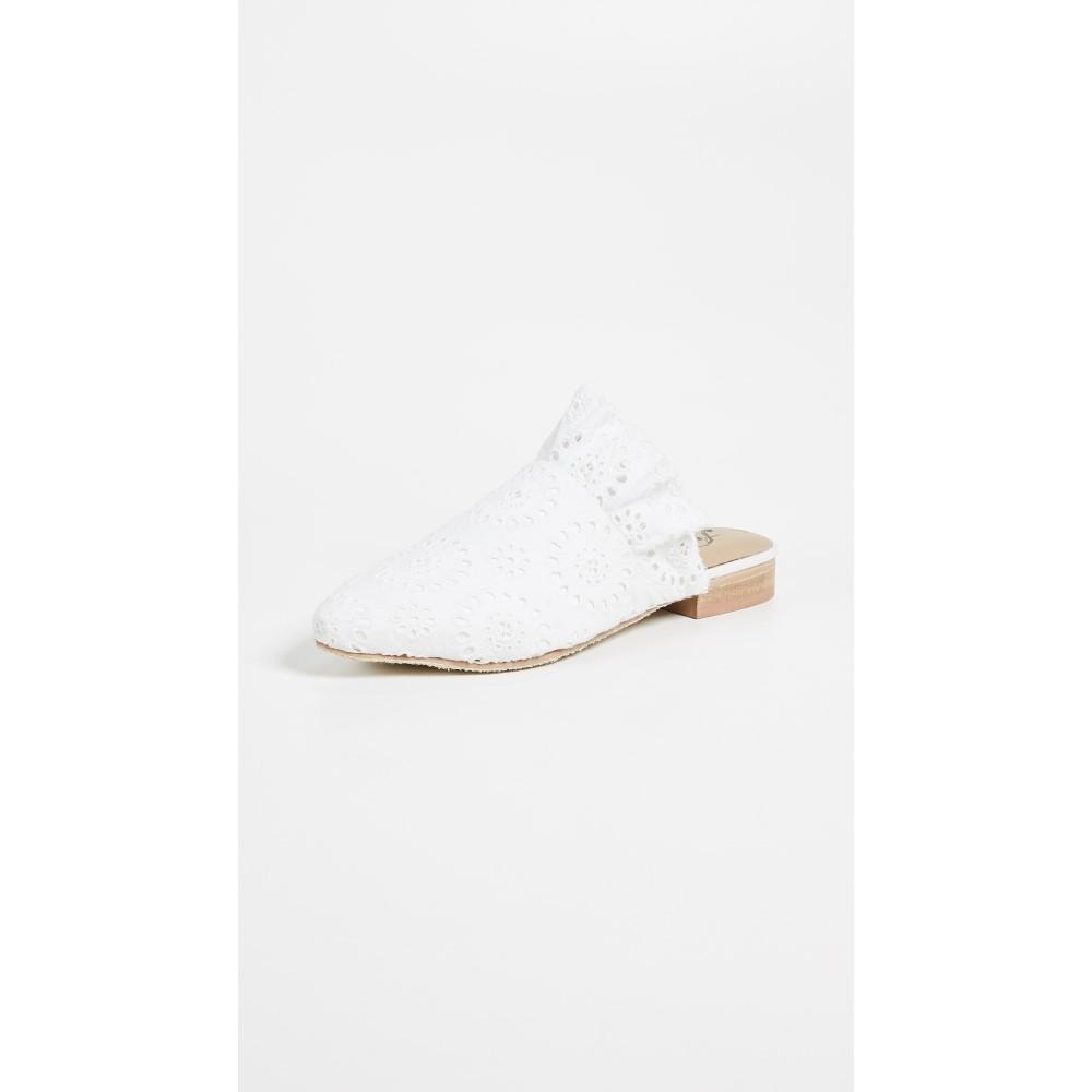 9a2232cdf9c フリーピープル レディース シューズ・靴 サンダル・ミュール Eyelet Sienna Slip Ons White フリーピープル レディース  シューズ・靴 サンダル・ミュール  サイズ ...