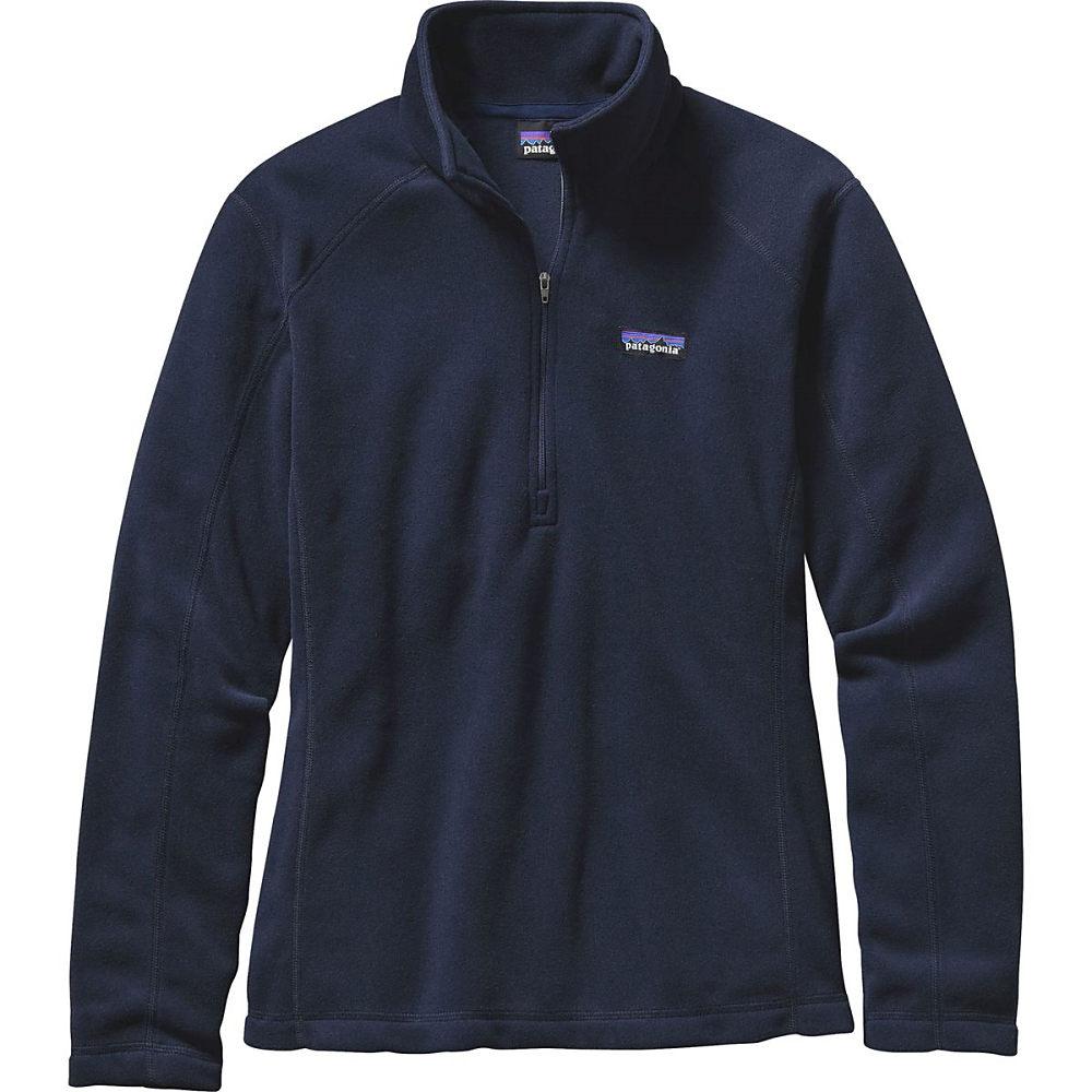 パタゴニア Patagonia レディース アウター ジャケット【Micro D 1/4-Zip Pullover】Navy Blue パタゴニア レディース アウター ジャケット 【サイズ交換無料】