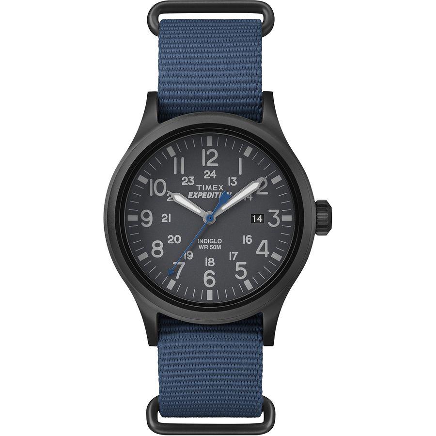 タイメックス Timex メンズ アクセサリー 腕時計【Expedition Scout Watch】Blue/Gray Dial タイメックス メンズ アクセサリー 腕時計 【サイズ交換無料】