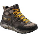 ホカ オネオネ Hoka One One メンズ ハイキング シューズ・靴【Tor Tech Mid WP Hiking Boot】Brindle/Golden Yellow