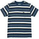 ルーカ RVCA メンズ トップス Tシャツ【Damron T - Shirts】Ink Blue
