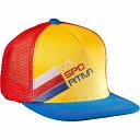 ラスポルティバ レディース 帽子 キャップ【Trucker Stripe Hat】Yellow/Blue