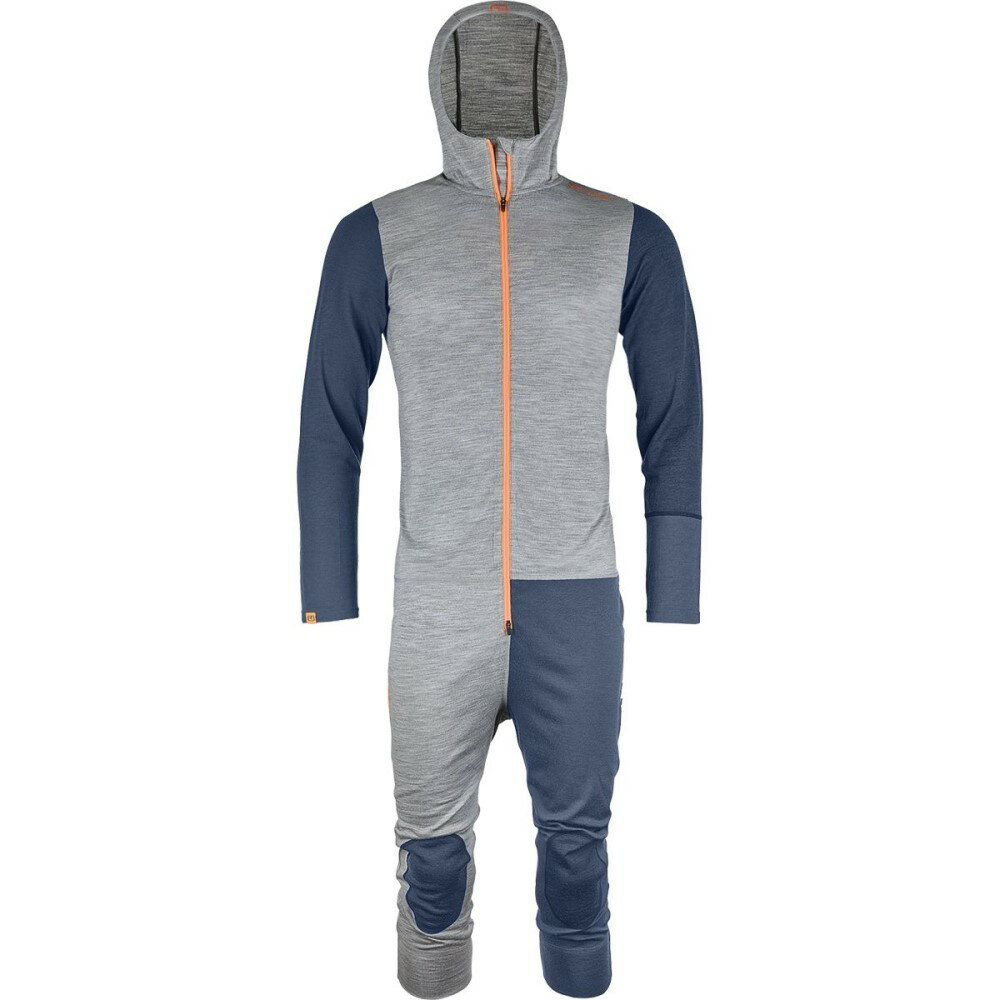オルトボックス メンズ トップス ツナギ・オールインワン【Rock'N'Wool Overalls】Grey Blend