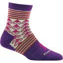 ダーンタフ レディース インナー・下着 ソックス【Swirl Print Shorty Light Sock】Purple