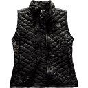 ザ ノースフェイス レディース トップス ベスト・ジレ【ThermoBall Insulated Vest】Tnf Black