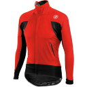 �����ƥ� Castelli ��� ��������� ��������Alpha Wind Jersey��Red / Black