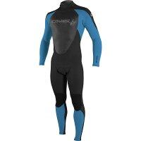 オニール ONeill メンズ 水着・ビーチウェア ウェットスーツ【Epic 3/2 Back - Zip Full Wetsuits】Black/Bright Blue/Blackの画像