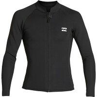 ビラボン Billabong メンズ ウェットスーツ ジャケット 水着・ビーチウェア【2/2 revolution front - zip jacket】Blackの画像