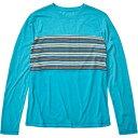 ショッピングエナメル マーモット Marmot メンズ 長袖Tシャツ トップス【Echo View Long - Sleeve T - Shirt】Enamel Blue