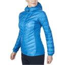 バーグハウス Berghaus レディース アウター ダウンジャケット【Scafell Stretch Hooded Hydro Down Jacket】Mykonos Blue/Mykonos Blue
