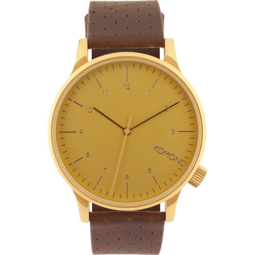 コモノ Komono メンズ アクセサリー 腕時計【Winston Classic Watch】Gold コモノ メンズ アクセサリー 腕時計 【サイズ交換無料】