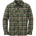 アウトドアリサーチ Outdoor Research メンズ トップス 長袖シャツ【Crony Flannel Shirt】Kale