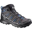 サロモン Salomon メンズ 登山 シューズ・靴【X Ultra Mid Aero Hiking Boot】Autobahn/Black/Deep Water