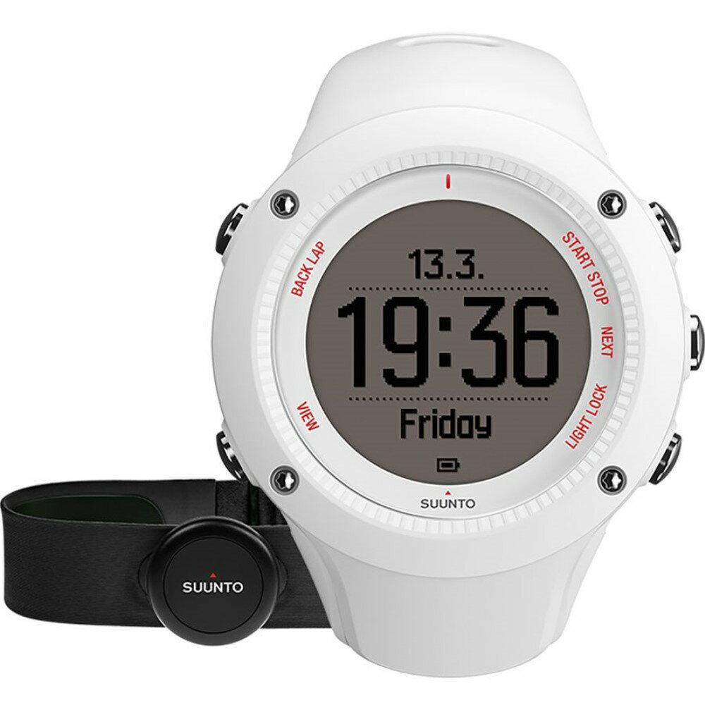 スント Suunto メンズ アクセサリー 腕時計【Ambit3 Run Heart Rate Monitor】White スント メンズ アクセサリー 腕時計 【サイズ交換無料】