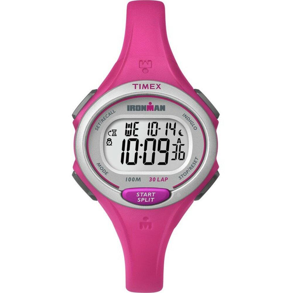 タイメックス Timex レディース アクセサリー 腕時計【Ironman Essentials 30-Lap Watch】Pink タイメックス レディース アクセサリー 腕時計 【サイズ交換無料】【丸山しずな】