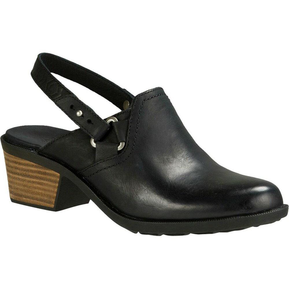 テバ Teva レディース シューズ・靴 スニーカー【Foxy Leather Clog】Black テバ レディース シューズ・靴 スニーカー 【サイズ交換無料】