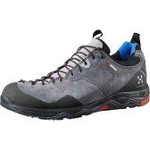 ホグロフス Hagl?fs メンズ ハイキング シューズ・靴【Rocker Leather GT Shoe】Granite/Danger【10P03Dec16】
