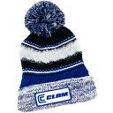 カーム Clam Outdoors ユニセックス 帽子 ニット【Clam Knit Pom Beanie】Blue