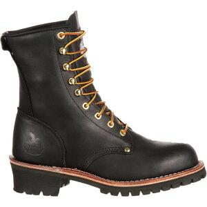 ジョージアブーツ Georgia Boots メンズ ブーツ ワークブーツ シューズ・靴【georgia boot logger work boots】Black