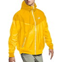 ナイキ Nike メンズ ランニング・ウォーキング アウター【Sportswear 2019 Hooded Windrunner Jacket】Amarillo/Gold Dart
