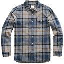 ショッピングノースフェイス ザ ノースフェイス The North Face メンズ トップス シャツ【Arroyo Long Sleeve Flannel Shirt】Mid Grey Speed Wagon Plad
