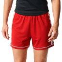 アディダス adidas レディース サッカー ショートパンツ ボトムス・パンツ【Squadra 17 Soccer Shorts】Power Red/White